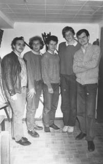ARH Slg. Bartling 149, Gruppenporträt von Vertretern der jungen Union, Ortsverein Neustadt am Rübenberge, 1985