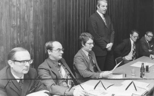 ARH Slg. Bartling 165, Verhandlungen über öffentliche Finanzierungshilfen, 1974