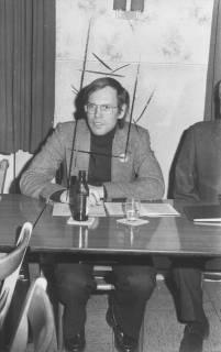 ARH Slg. Bartling 166, Walter Hirche, Niedersächsischer Wirtschaftsminister (FDP), 1974
