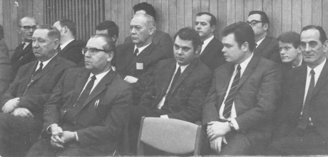 ARH Slg. Bartling 186, Sitzung, 1970