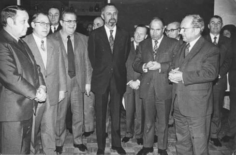 ARH Slg. Bartling 197, Mitglieder des Kabinetts Kubel I, um 1970