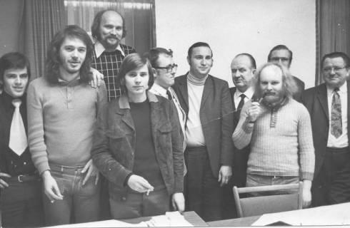ARH Slg. Bartling 199, Landtagswahlkampf-Team der SPD, 1973