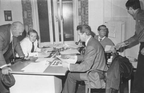 ARH Slg. Bartling 207, Vorbereitung der Wahl, um 1975