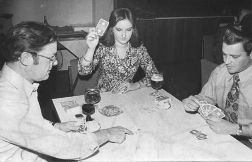 ARH Slg. Bartling 217, Städtische Verwaltungsangestellte beim Skat, 1974