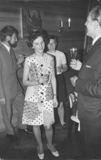 ARH Slg. Bartling 221, Sektempfang bei Michael Baldauf (rechts), 1971