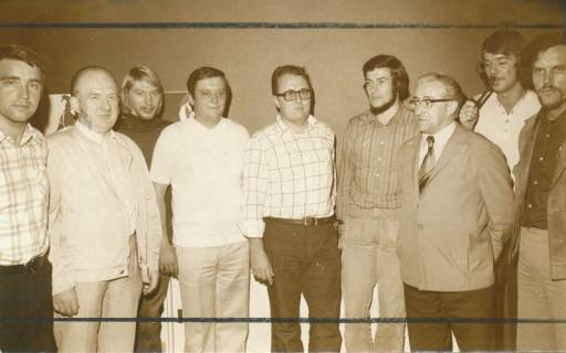 ARH Slg. Bartling 231, Der neue Vorstand der Neustädter SPD, 1974
