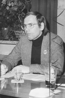 ARH Slg. Bartling 237, Walter Hirche (MdL) bei einer FDP-Veranstaltung in Neustadt am Rübenberge, um 1974