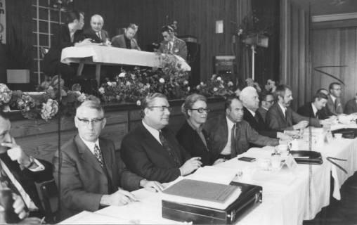 ARH Slg. Bartling 238, SPD-Veranstaltung im Saal, 1972