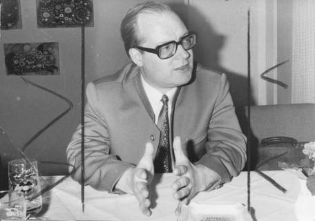 ARH Slg. Bartling 256, Rötger Groß, Niedersächsischer Minister des Innern (FDP), 1972