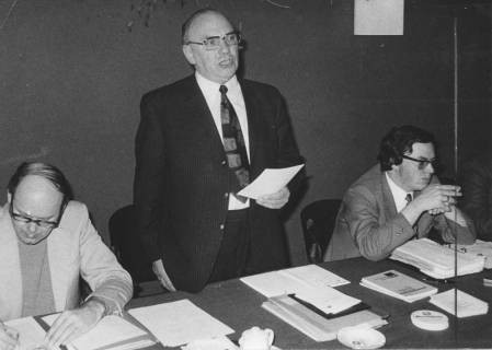 ARH Slg. Bartling 259, Egon Franke, Bundesminister für Gesamtdeutsche Fragen (SPD), 1973