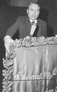 ARH Slg. Bartling 266, Heinrich Lummer, Mitglied des Abgeordnetenhauses in Berlin-West (CDU) in Neustadt am Rübenberge, 1974