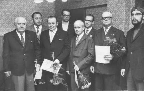 ARH Slg. Bartling 267, Ehrung von vier SPD-Mitgliedern, 1971