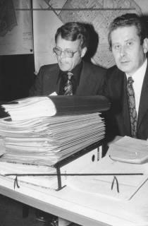 ARH Slg. Bartling 270, Fritz Temps, Bürgermeister, und Felix Rohde, Stadtdirektor, 1974
