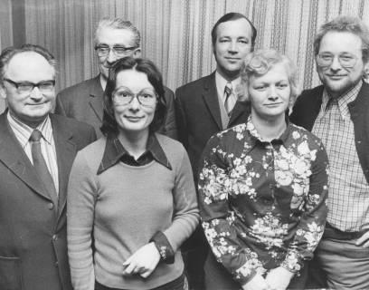 ARH Slg. Bartling 272, Gruppenfoto der SPD-Spitzenkandidaten bei der Kommunalwahl in Neustadt am Rübenberge, 1974