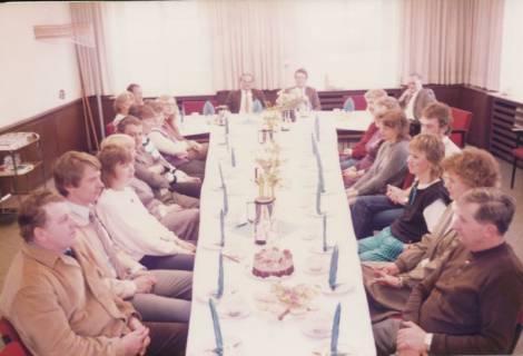ARH Slg. Bartling 333, Feier zum 25jährigen Dienstjubiläum des Städtischen Rats Erhard Korner, um 1980