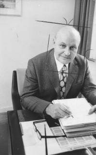ARH Slg. Bartling 341, Otto Hergt, Stadtdirektor, 1974