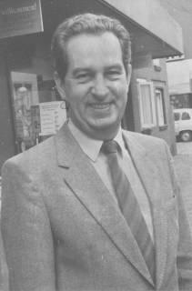 ARH Slg. Bartling 353, Horst Dettmann, Leiter des FZZ, um 1980