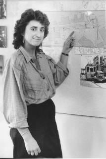 ARH Slg. Bartling 364, Gudrun Hagen, Mitarbeiterin des Bauamtes, um 1980