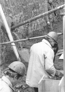 ARH Slg. Bartling 475, Männer bei Ausschachtungsarbeiten, um 1970