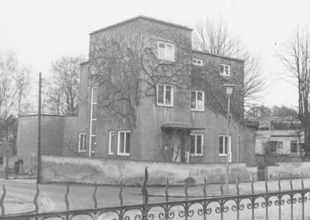 ARH Slg. Bartling 610, Lindenstraße 11, Villa Lamprecht (nach dem Krieg Unterkunft der Militärregierung, danach Polizeirevier, ca. 1980 abgerissen), um 1980