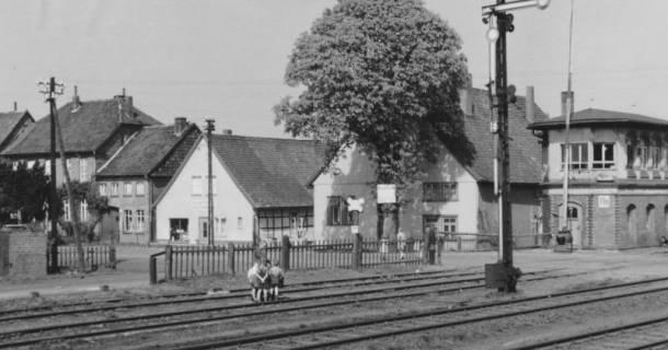 ARH Slg. Bartling 616, Bahnübergang Landwehr, um 1970