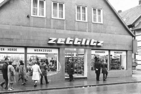 ARH Slg. Bartling 692, Leinstraße 4, Herde, Öfen, Werkzeug, Eisenwaren, Baubedarf Walter Zettlitz, um 1970