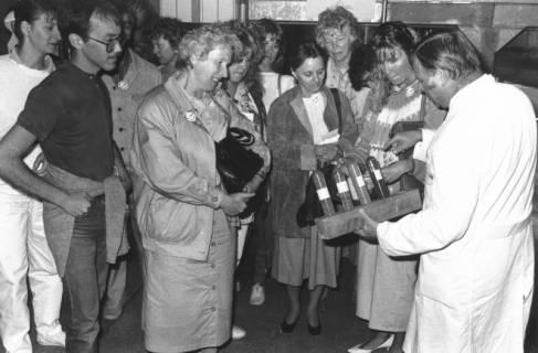 ARH Slg. Bartling 712, Chemiefabrik (Kali-Chemie?), Vorführung vor Besuchern, um 1970