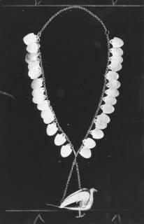 ARH Slg. Bartling 1460, Neustädter Königskette von Herzog Erich I. mit Schützenvogel und Namensschildchen der Könige (2. H. 19. / A. 20. Jh.), 1972