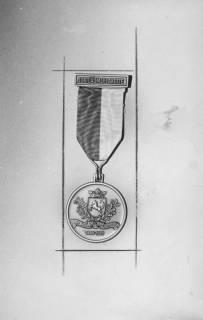 ARH Slg. Bartling 1490, Jubiläumsplakette des Neustädter Jäger-Corps 1848-1973, Neustadt a. Rbge, 1973