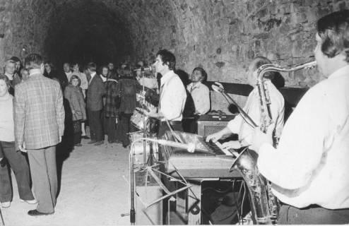 ARH Slg. Bartling 1793, Jazz-Konzert des Gloria-Quartetts in der Kasematte des Schlosses, Neustadt a. Rbge., 1973