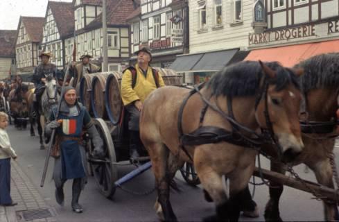 ARH Slg. Fritsche 3, Biertreck von Einbeck nach Lübeck, Burgdorf, 1972