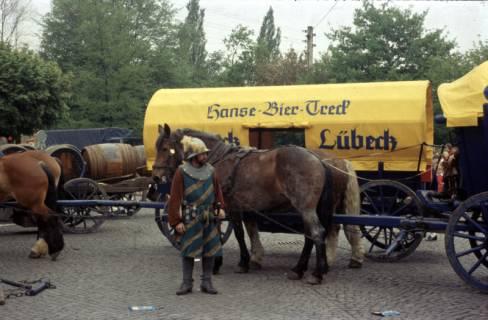ARH Slg. Fritsche 13, Biertreck von Einbeck nach Lübeck, Burgdorf, 1972