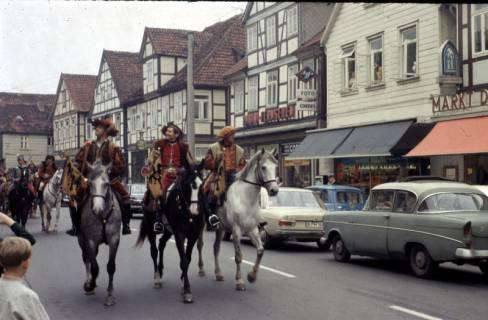 ARH Slg. Fritsche 15, Biertreck von Einbeck nach Lübeck, Burgdorf, 1972
