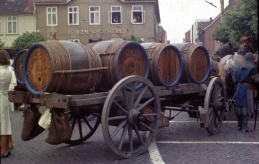 ARH Slg. Fritsche 17, Biertreck von Einbeck nach Lübeck, Burgdorf, 1972