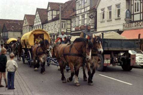 ARH Slg. Fritsche 19, Biertreck von Einbeck nach Lübeck, Burgdorf, 1972