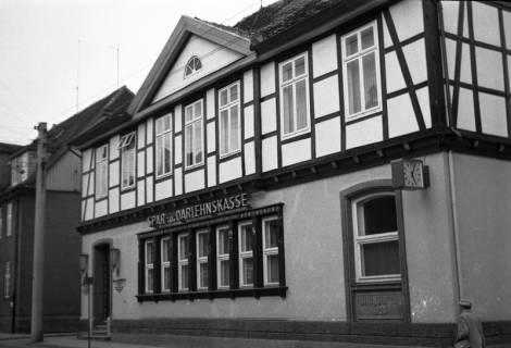 ARH Slg. Fritsche 22, Spar- und Darlehnskasse in der Poststraße, Burgdorf, ohne Datum