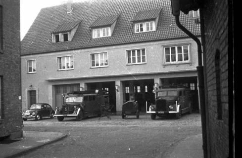 ARH Slg. Fritsche 30, Feuerwache in der Schmiedestraße, Burgdorf, vor 1956