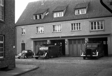 ARH Slg. Fritsche 31, Feuerwache in der Schmiedestraße, Burgdorf, vor 1956