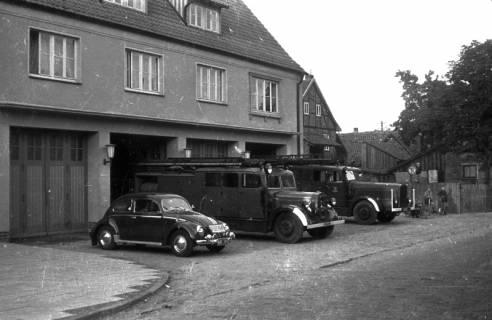 ARH Slg. Fritsche 32, Feuerwache in der Schmiedestraße, Burgdorf, vor 1956