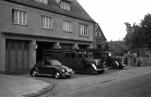 ARH Slg. Fritsche 33, Feuerwache in der Schmiedestraße, Burgdorf, vor 1956