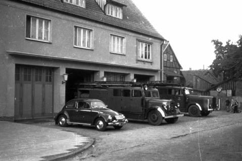 ARH Slg. Fritsche 34, Feuerwache in der Schmiedestraße, Burgdorf, vor 1956