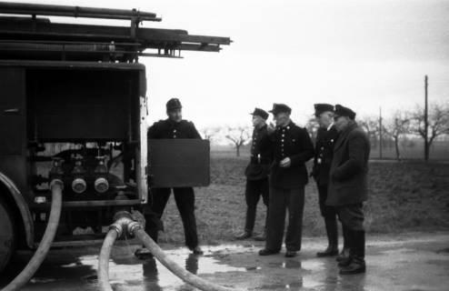 ARH Slg. Fritsche 35, Feuerwehrübung, Burgdorf, vor 1956