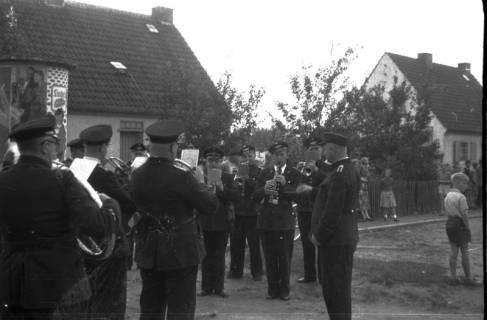 ARH Slg. Fritsche 36, Feuerwehrübung, Burgdorf, vor 1956