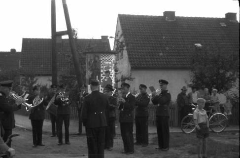 ARH Slg. Fritsche 37, Feuerwehrübung, Burgdorf, vor 1956