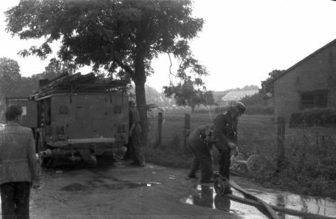 ARH Slg. Fritsche 39, Feuerwehrübung, Burgdorf, vor 1956