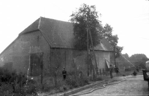 ARH Slg. Fritsche 40, Feuerwehrübung am Dammgartenfeld, Burgdorf, ohne Datum