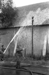ARH Slg. Fritsche 41, Feuerwehrübung am Dammgartenfeld, Burgdorf, ohne Datum