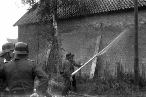ARH Slg. Fritsche 42, Feuerwehrübung am Dammgartenfeld, Burgdorf, ohne Datum