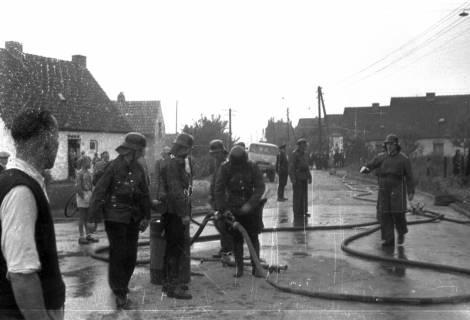 ARH Slg. Fritsche 43, Feuerwehrübung, Burgdorf, ohne Datum