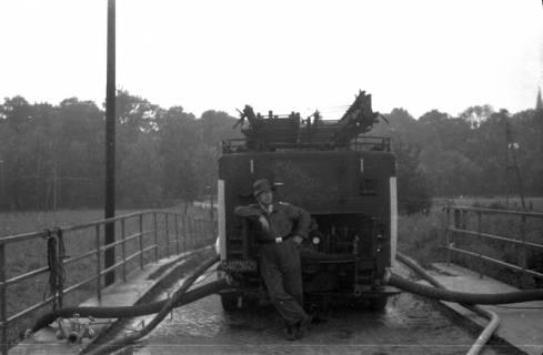 ARH Slg. Fritsche 48, Feuerwehrübung, Burgdorf, vor 1956
